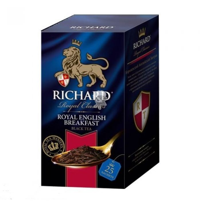 Чай Richard Royal English Breakfast 25пак*2г  конверт (сашет)