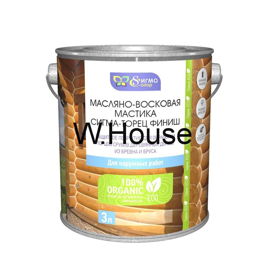 """Масляно-восковая мастика """"Сигма-Торец Финиш"""", бесцветный"""