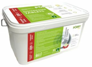 Таблетки для посудомоечных машин PURRY Nature с натуральной горчицей, 300 шт, контейнер