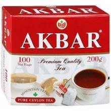 Чай Акбар с/я 100пак*2г