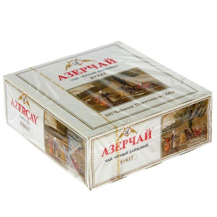 Чай Азерчай Букет 100пак*2г Кубань