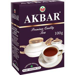 Чай Акбар 100 лет фиолетовый 100г
