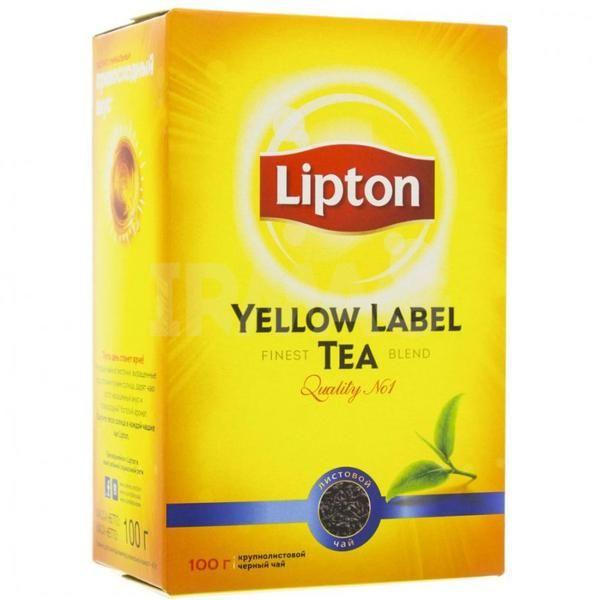 Чай Липтон лист 100г