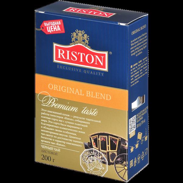 Чай Ристон Ориджинал Бленд лист 200г