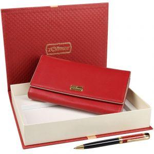 Подарочный набор кошелек и ручка Venuse 76004 №73