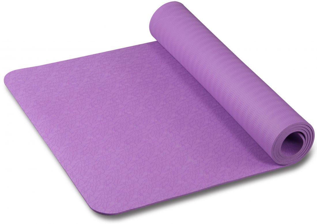 Коврик для йоги/фитнеса с рисунком INDIGO IN020 173*61*0,6 cм