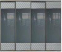 Четырехдверные двери купе - Кожа+Зеркало+Кожа,комбинированные.