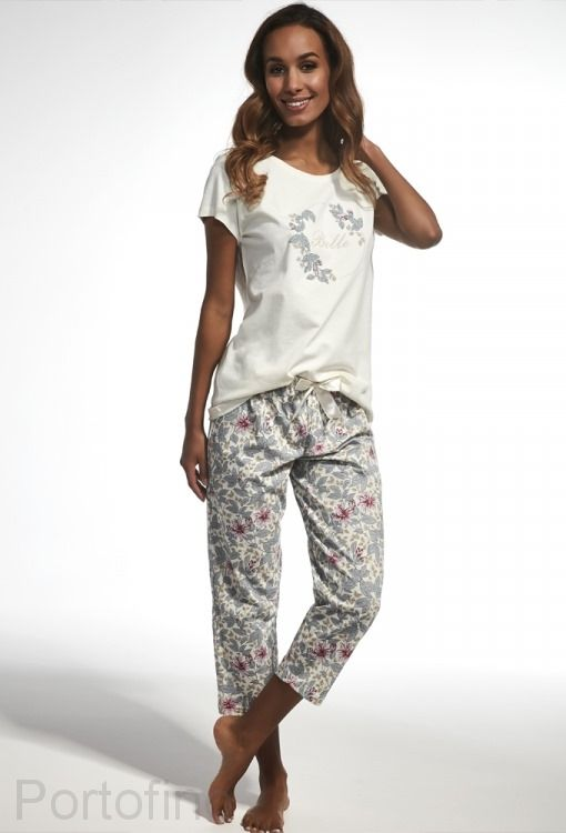 670-147 Пижама женская короткий рукав Cornette