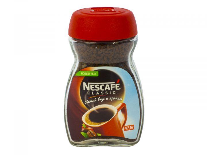 Кофе Нескафе Классик ст/б 47,5г