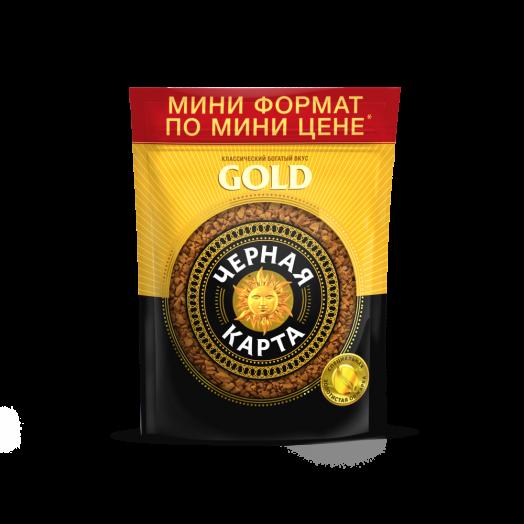 Кофе Черная карта Голд раств. (пакет) 36г