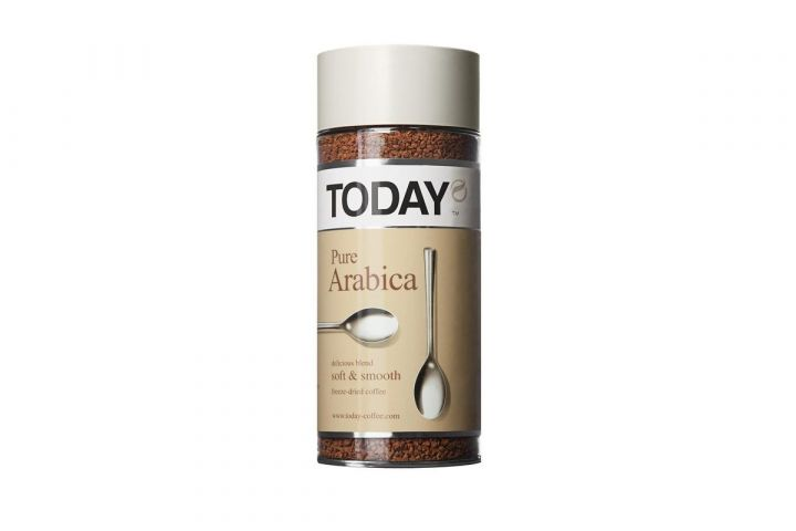 Кофе Today Pure Arabica ст/б 95г Германия