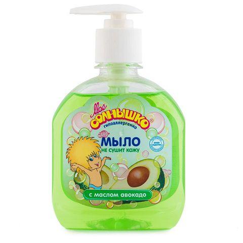 Мыло Моё Солнышко 300мл жидкое с маслом Авокадо