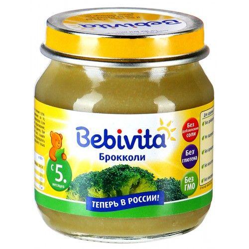Пюре Bebivita овощ. Брокколи 100г