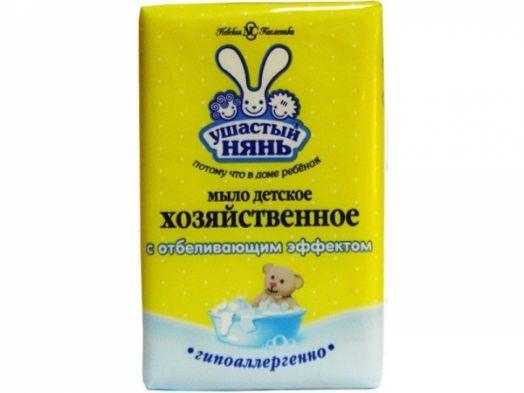 Мыло Ушастый нянь 180г хоз.с отбелив.эф. а16138