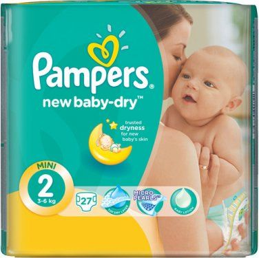 Подгузники Памперс New Baby Mini 27