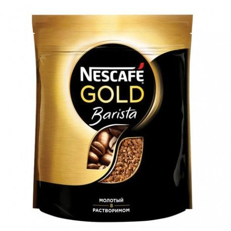 Кофе Нескафе Голд Бариста 150г пакет