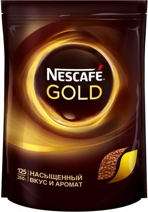 Кофе Нескафе Голд 250г пакет