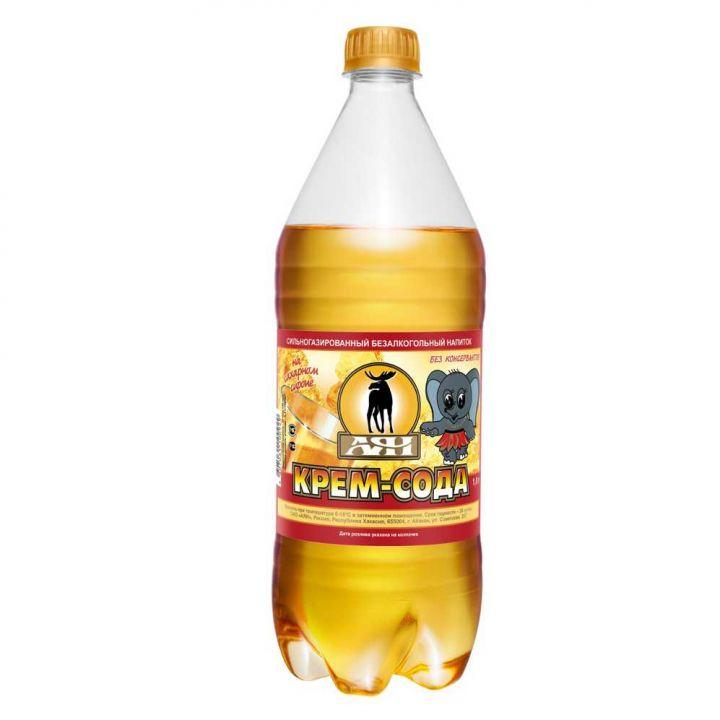 Газ. вода Крем сода 0,65л пэт АЯН