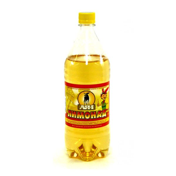 Газ. вода Лимонад 1л пэт АЯН
