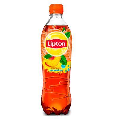 Чай Липтон 0,5л Персик пэт Пепси