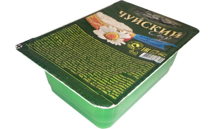 Сыр плавленый Чуйский сливочный 180г