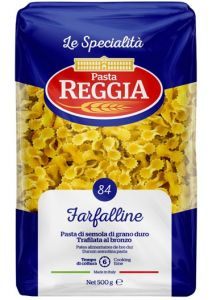 """Паста Reggia La Specialita """"Фарфаллине n. 84"""""""