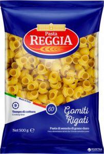 Макароны Pasta Reggia 60 Gomiti Rigati Ракушки 500 г