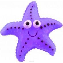 Виниловая игрушка-пищалка для собак Морская Звезда, 12 см, Цвет: Фиолетовый