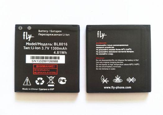 Аккумулятор Fly FS408 Stratus 8 (BL8016) Оригинал