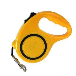 Рулетка - поводок для собак с механическим блокиратором длины Retractable Dog Leash, 5 м
