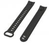 Сменный силиконовый ремешок для браслета honor band 4 (черный)