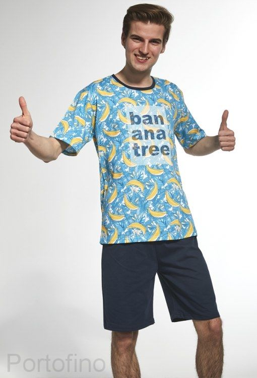 146-29 Пижама для мальчика подростковая Cornette