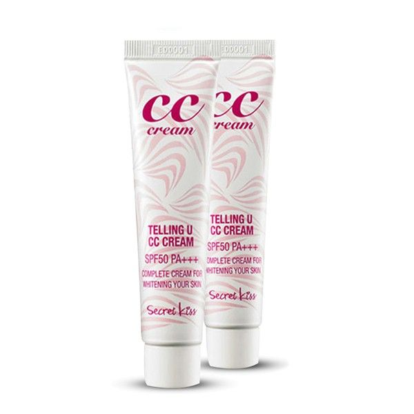 Secret Key СС крем для увлажнения и сияния Telling U CC Cream SPF50+ PA+++