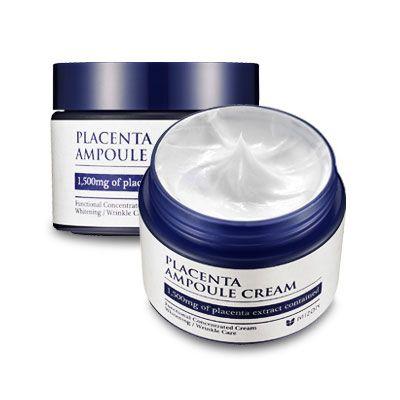 MIZON Антивозрастной плацентарный крем для лица Placenta Ampoule Cream