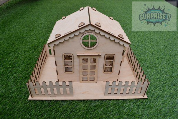 "Кукольный домик ""Бабушкин дом"""