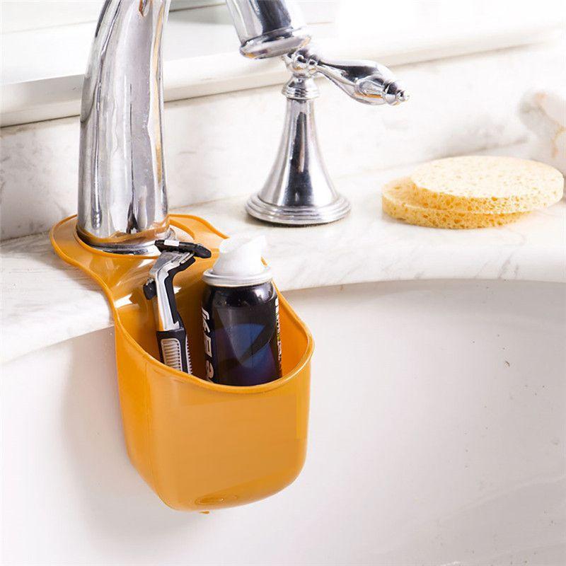 Подвесной Карман Для Раковины Silicone Sink Top Hanger, Цвет Оранжевый