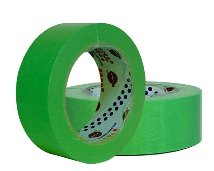Eurocel Маскирующая лента 80°С - 30мин., 38мм. х 40м., зеленая