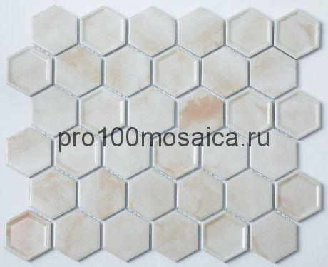 P-507. Мозаика СОТЫ, серия PORCELAIN,  размер, мм: 325*281 (NS Mosaic)