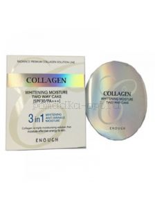 ENOUGH COLLAGEN 3 IN 1 WHITENING КОЛЛАГЕНОВАЯ ПУДРА 3 В 1 ( 13ГР+ ЗАПАС)