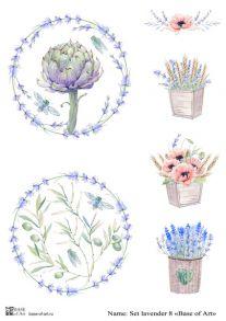 Set lavender 8