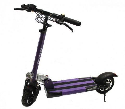 Электросамокат Kuaike K2 500W Фиолетовый (с сиденьем)
