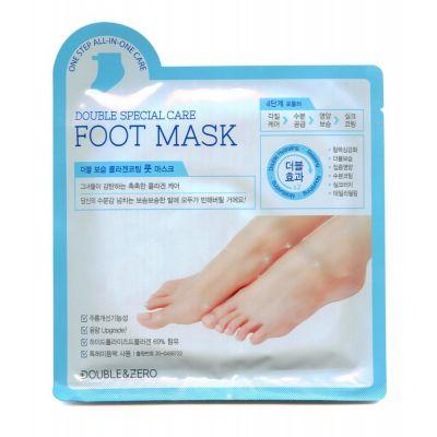 "DOUBLE SPECIAL CARE FOOT MASK  Маска для ног ""комплексный уход"", 2шт*20г"