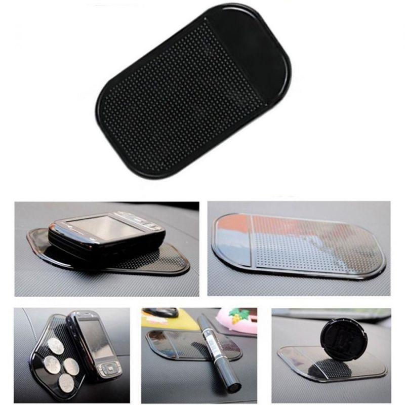Коврик  для телефона и мелких предметов Stick Mat, черный