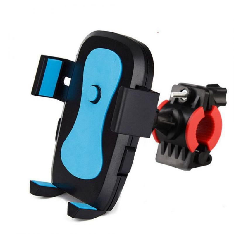 Держатель телефона на велосипед Bike Phone Support, цвет голубой