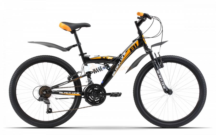 Велосипед подростковый Black One Ice FS 24 (2019)