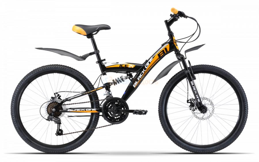 Велосипед подростковый Black One Ice FS 24 D (2019)