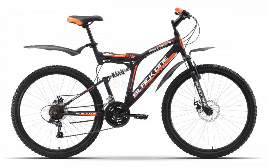 Велосипед двухподвес Black One Descender FS 26 Alloy D (2019)
