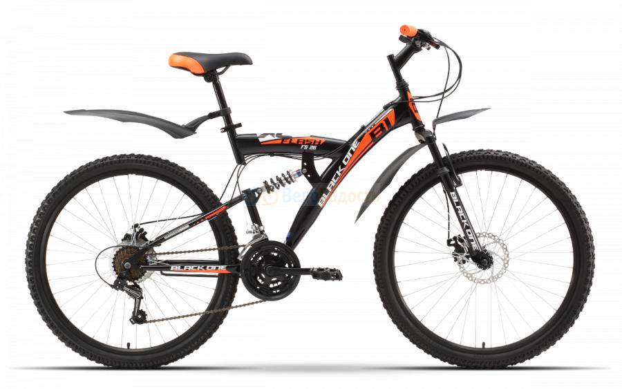 Велосипед двухподвес Black One Flash FS 26 D (2019)