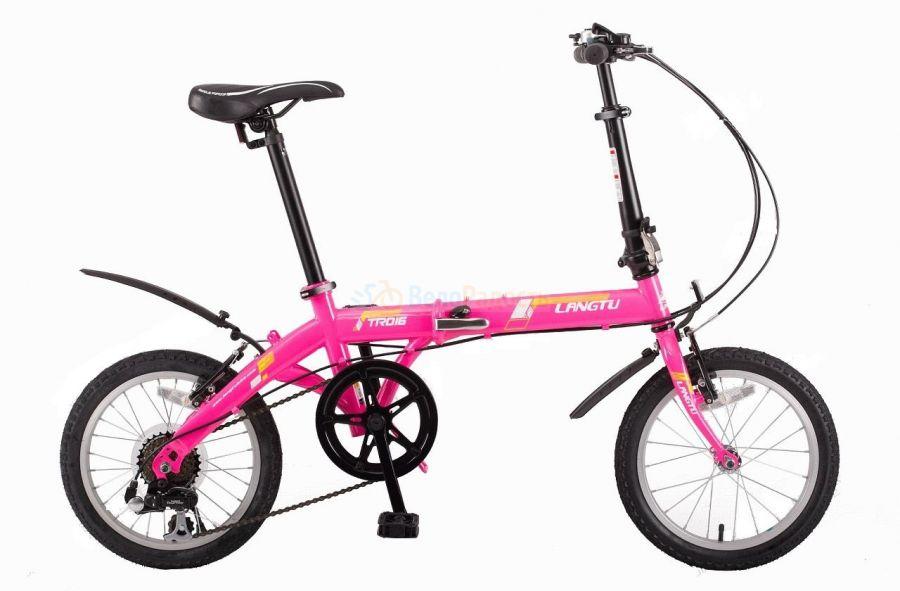 Велосипед складной Langtu TR 016 (2018)