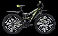 Велосипед двухподвес Black One Attack FS 26 D (2019)